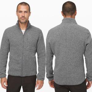 Lululemon Tundra Sherpa Fleece Jacket Grey XL Mens